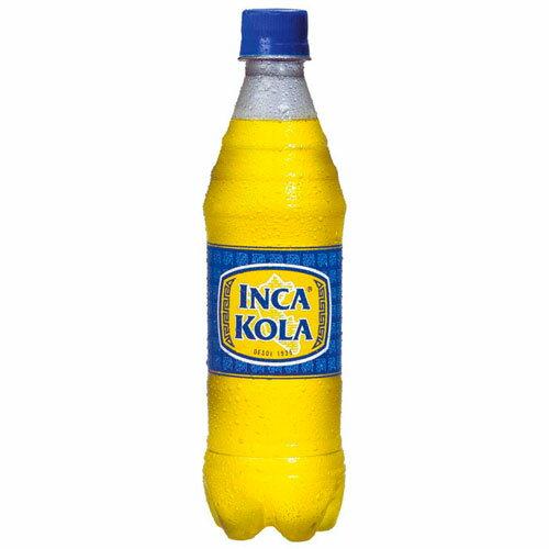 【ハロウィン☆10%FF】インカコーラ ペットボトル 450ml【あす楽対応】【INCA KOLA】