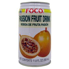 パッションフルーツ ドリンク FOCO 350ml Passion fruit drink【あす楽対応】【楽ギフ_包装】【楽ギフ_のし】10P04Mar17