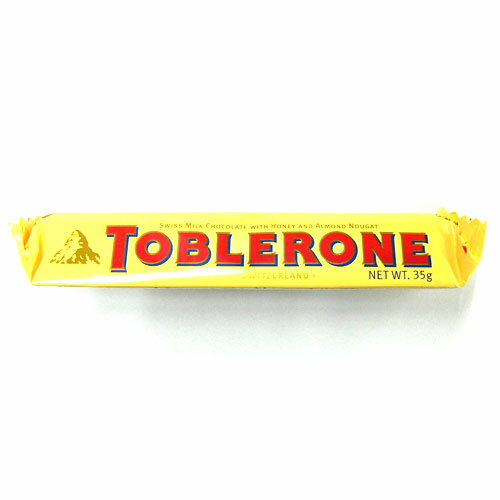 トブラローネ・ミルク 35g Swiss milk chocolate with Honey and Almond Nought TOBLERONE 35g 【あす楽対応】 【楽ギフ_包装】10P04Mar17