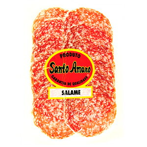 熟成サラミ スライス サントアマロ 80g 冷蔵salame santo amaro【あす楽対応】【サラミ スライス】【サラミ おすすめ】