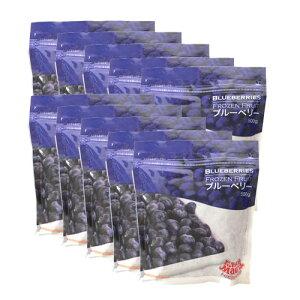 【送料無料】ブルーベリー 冷凍 500g×10袋(5kg) トロピカルマリア【あす楽対応】【冷凍食品】【非常食】【保存食】【長期保存】