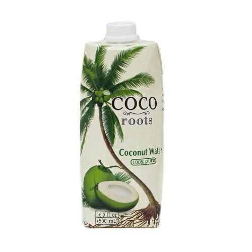 ココルーツ ココナッツウォーター 500ml coco roots coconut water 【あす楽対応】【ココナツジュース おすすめ】【ココナッツウォーター 激安】【100% coconut water】10P29Jul228210P04Mar17