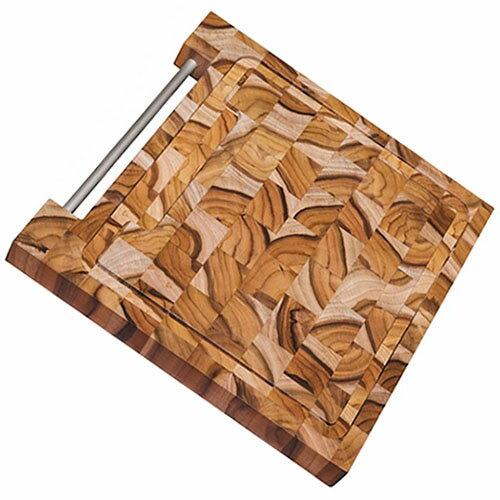 TRAMONTINA 木製 エンドグレインカッティングボード 30cm×30cm BARBECUE 【あす楽対応】【楽ギフ_包装】【バーベキューボード】【バーベキュー用 トレイ】【サービングボード】10P04Mar17