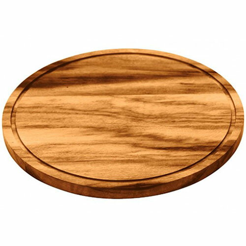 TRAMONTINA 木製 ラウンド カッティングボード 直径26cm BARBECUE 【あす楽対応】【楽ギフ_包装】【バーベキューボード】【バーベキュー用 トレイ】【サービングボード】10P04Mar17