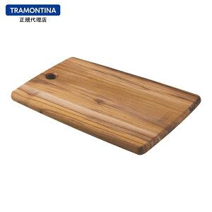 【送料無料】TRAMONTINA 抗菌 木製カッティングボード M 34cm×23cm KITCHEN チーク【あす楽対応】【サービングボード】【キッチン】【軽量 カッティングボード おしゃれ】【まな板 抗菌】