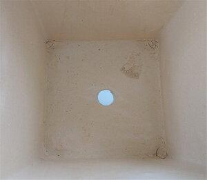 【15%OFF】観葉鉢[173-106L-01]植木鉢陶器観葉植物寄せ植え大型正方形おしゃれ可愛いガーデニングインテリア(サイズ一辺30.0×高さ40.0cm)