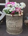 【15%OFF】植木鉢 プランター ファイバーストーン [194-921S] 6.5号 おしゃれ 可愛い 丸型 アンティーク風 ガーデニング (サイズ 直径2…