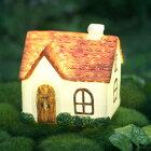 ソーラーライト/870-007S/ガーデンライト/置物/ガーデンアクセサリー/ガーデンオーナメント/コテージ風/かわいい