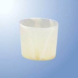 メラミン スタンド(中仕切付) 小 ミスティ・ナチュラル mellinaメリーナ/国際化工 [M329NL] 客室備品・ホテル向けアメニティ 歯ブラシ立て プラスチック製