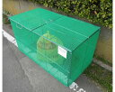 送料無料 折畳み式ゴミ収納枠 1200タイプ(家庭ゴミ用 5〜11世帯分)持ち運びラクラクの折りたたみタイプ ごみ集積所の …