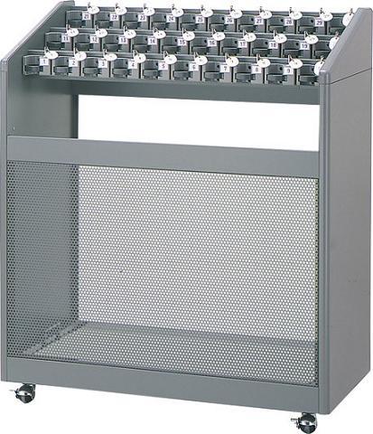※代引不可※受注生産品 送料無料 施設用品・傘立て 雨天用品 キーロック・鍵付 30本立 アンブラーNLB 30(鍵付) (山崎産業)[YA-57L-ID]