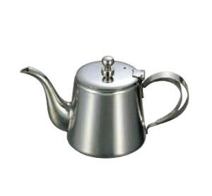 卓上用品 ティー・お茶・紅茶用品 ポット ステンレス製 UK18-8 K型ティーポット 5人用(500cc)(EBM21-1)(1279-04)