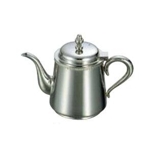 送料無料 卓上用品 ティー・お茶・紅茶用品 ポット ステンレス製 UK18-8 菊渕ティーポット 3人用(450cc)(EBM21-1)(1279-01)