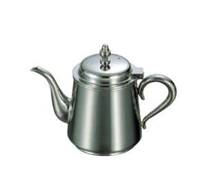 送料無料 卓上用品 ティー・お茶・紅茶用品 ポット ステンレス製 UK18-8 B渕ティーポット 3人用(450cc)(EBM21-1)(1279-02)