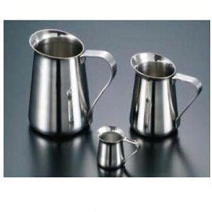 卓上用品 ティー・お茶・紅茶用品 ミルク・シロップ・容器・ポット ステンレス製 18-8ミルクポット 250cc(EBM21-1)(1285-01)