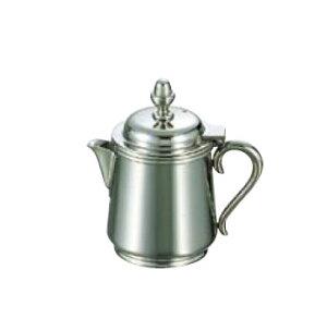 卓上用品 ティー・お茶・紅茶用品 ミルク・容器・ポット ステンレス製 UK18-8 B渕ミルクポット 5人用160cc(EBM21-1)(1286-04)