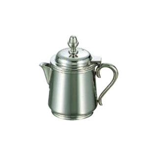 卓上用品 ティー・お茶・紅茶用品 ミルク・容器・ポット ステンレス製 UK18-8 B渕ミルクポット 7人用220cc(EBM21-1)(1286-04)