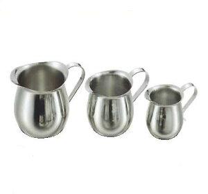 卓上用品 ティー・お茶・紅茶用品 ミルク・シロップ・容器・ポット ステンレス製 18-8ペリカンクリーマー 大230cc(EBM21-1)(1285-02)