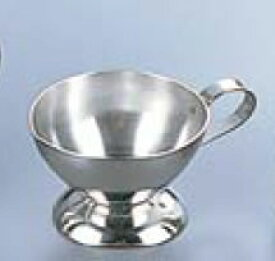 卓上用品 ティー・お茶・紅茶用品 シロップ・容器・ポット ステンレス製 18-8 ミルクピッチャーメロディー18-8台付 1人用小8cc(EBM19-1)(1129-21)