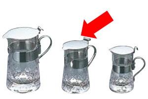 卓上用品 ティー・お茶・紅茶用品 ミルク・シロップ・容器・ポット ガラス製 ガラス 矢来ミルクピッチャーYR-28 中40ml(EBM21-1)(1283-25)