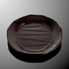 メラミン 22cm丸皿 直径219mm H26mm 溜[D250TM] マルケイ 業務用 食洗機対応 割れにくい 丈夫 業務用 プラスチック 樹脂 食器 皿 D8