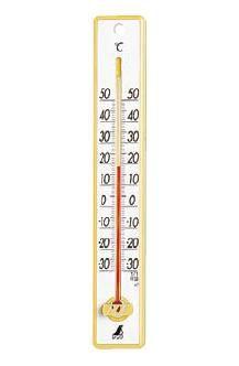 温度計 プラスチック寒暖計 48357 (6-0559-0901)