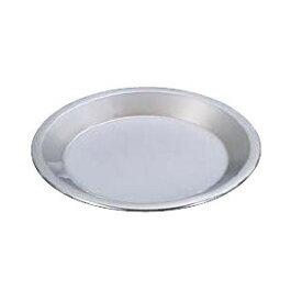 製菓用品・パイ皿 お菓子作り・道具 23cm ステンレス製 18-0 パイ皿 大 (8-1092-0701)