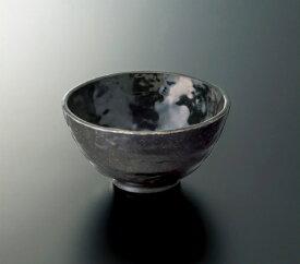 メラミン製 黒釉こくゆう 飯碗(118×62mm 320cc) スリーライン[M-489KYU ] 食器 メラミン プラスチック製 樹脂製 業務用 無地 器 茶碗 和食 皿