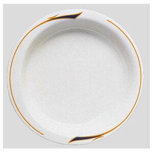 送料無料 Daiwa|プラスチック食器|メラミン製|介護・自助食器|病院|施設 10個セット/10個以上端数注文可 主菜皿・大 メヌエット(Φ215×H35mm・640ml) (台和)[HS-100-ME]