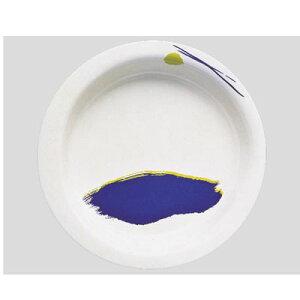 送料無料 Daiwa|プラスチック食器|メラミン製|介護・自助食器|病院|施設 10個セット/10個以上端数注文可 主菜皿・大 セレナーデ(Φ215×H35mm・640ml) (台和)[HS-100-SE]