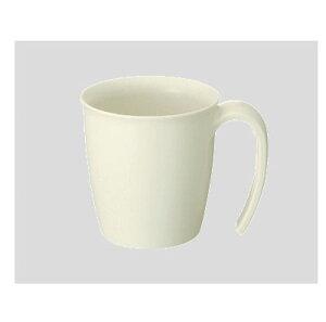 Daiwa|プラスチック食器|持ちやすいコップ|介護・自助食器|病院|施設 10個セット/10個以上端数注文可 Suマグカップ アイボリー(86×113×H82mm・260ml) (台和)[HS-300-IV]