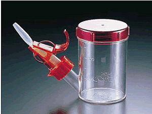 介護用品 介護食器 介助用食器らくらくゴックンスープ・お茶用(水量調節器付)(7-2353-0101)