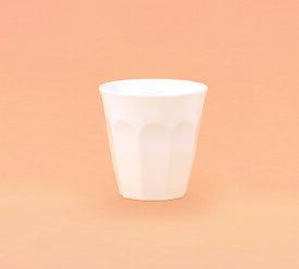 【10点セット】メラミン カップ ホワイト(φ88×H89mm・280ml)[MW-280] 関東プラスチック工業 業務用 プラスチック製 フリーカップ タンブラー コップ