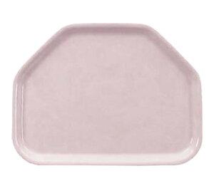 【お盆・トレイ】【プラスチック製】【業務用食器】FRPトレー六角盆ピンク(H-4500-p)【関東プラスチック工業】