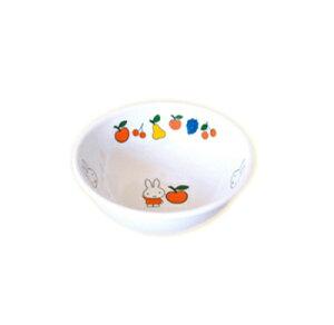 ※5個セット※メラミン子供用食器 ミッフィー miffy&fruits ボール (95×32mm・120cc) 関東プラスチック工業[M-3095FR] 業務用 保育園・幼稚園向け