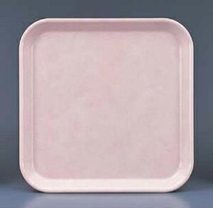 【お盆・トレイ】【プラスチック製】【業務用食器】FRPトレー角盆ピンク(H-3350-p)【関東プラスチック工業】