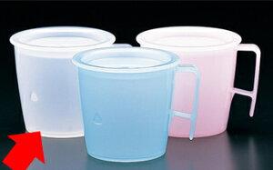 PP製・プラスチック製 ユニバーサルウェア・プレーン流動カップ(身)小※商品ふたは別売りです。ナチュラル(KB-5000) 関東プラスチック工業