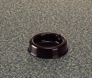 メラミン 灰皿 チョコ(こげ茶) (94×25mm) マンネン/萬年[741-D] 業務用 プラスチック製 メラミン製 樹脂製