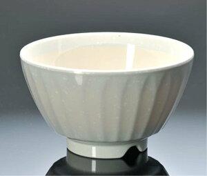 メラミン 器工房 飯碗 大 身 こな雪内白光来 (124×71mm・480cc) マンネン/萬年[801kH] 業務用 プラスチック製 メラミン製 樹脂製 和食器 飯碗 飯茶碗 茶椀