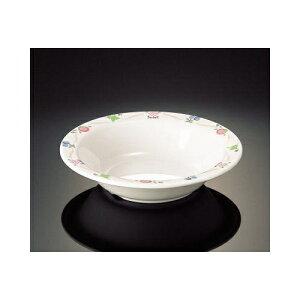 メラミン アプリケ 16.5cmスープ皿 (165×36mm・340cc) マンネン/萬年[AP-7819] 業務用 プラスチック製 メラミン製 樹脂製 洋食器 丸深皿 スープ皿 プレート 浅鉢