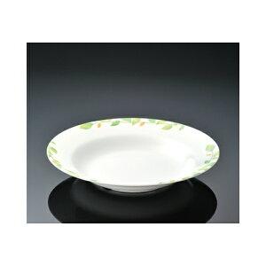 メラミン シトラス 21cmスープ皿 (209×34mm・500cc) マンネン/萬年[CI-261] 業務用 プラスチック製 メラミン製 樹脂製 洋食器 丸深皿 スープ皿 プレート