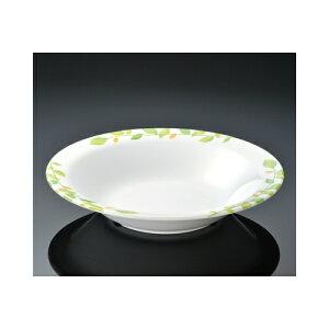 メラミン シトラス 23cmスープ皿 (230×44mm・710cc) マンネン/萬年[CI-7815] 業務用 プラスチック製 メラミン製 樹脂製 洋食器 丸深皿 スープ皿 プレート