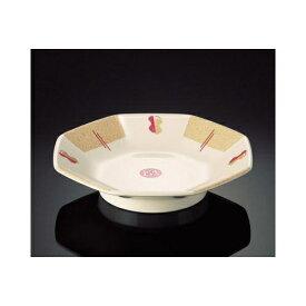メラミン 凰(ファン) 八角皿 (188×39mm) マンネン/萬年[FN-724] 業務用 プラスチック製 メラミン製 樹脂製 中華食器 丸深皿 浅鉢 中華鉢 八角皿