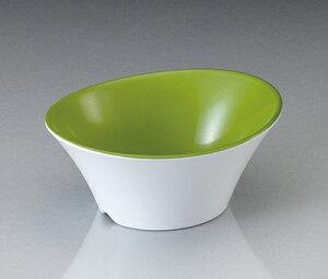 メラミン テラス フリーボール ピクルスグリーン(130×106×H56mm・270cc) マンネン/萬年[PG-789] 業務用 プラスチック製食器 割れない安全なメラミン樹脂