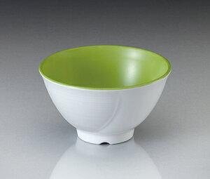 メラミン テラス ライスボール・小 ピクルスグリーン(113×H64mm・300cc) マンネン/萬年[PG-902] 業務用 プラスチック製食器 割れない安全なメラミン樹脂