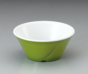メラミン テラス 小鉢 ピクルスグリーン(101×H45mm・170cc) マンネン/萬年[PG-903] 業務用 プラスチック製食器 割れない安全なメラミン樹脂