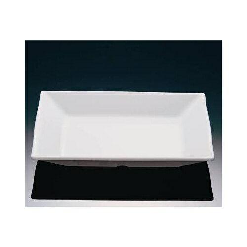メラミン ピュアホワイト 20.5cm角皿 (205×205×28mm) マンネン/萬年[PH-784] 業務用 プラスチック製 メラミン製 樹脂製 無地食器・白 主菜皿 メインプレート 多用皿