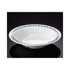 メラミン レスティブルー 23cmスープ皿 (230×44mm・710cc) マンネン/萬年[RB-7815] 業務用 プラスチック製 メラミン製 樹脂製 洋食器 丸深皿 スープ皿 プレート