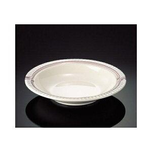 メラミン エスカルゴ 19cmスープ皿 (192×35mm・290cc) マンネン/萬年[SK-7809] 業務用 プラスチック製 メラミン製 樹脂製 洋食器 丸深皿 スープ皿 プレート
