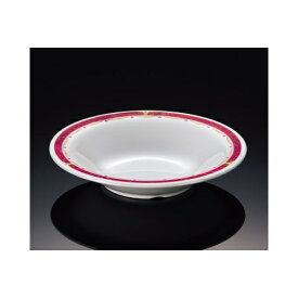 メラミン ワインベルジュ 19cmスープ皿 (192×37mm・400cc) マンネン/萬年[WI-7817] 業務用 プラスチック製 メラミン製 樹脂製 洋食器 丸深皿 スープ皿 プレート